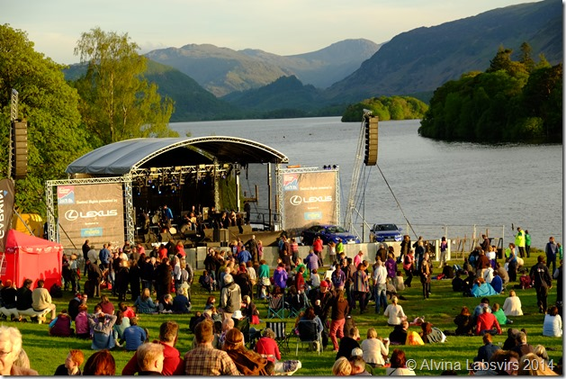 evening at Keswick Mountain Festival