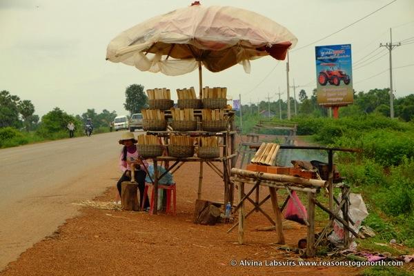 Sticky Rice stall