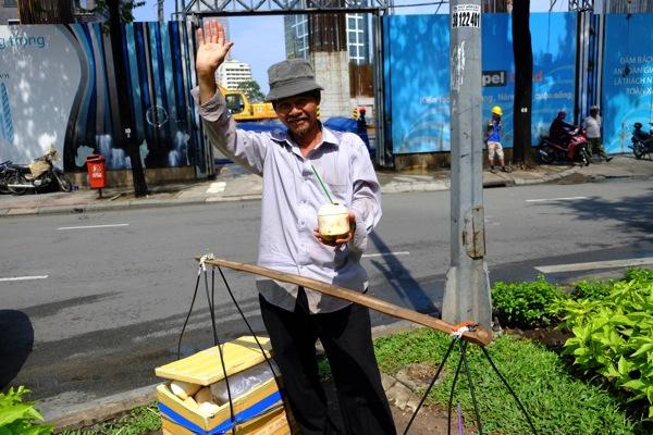 Selling coconut milk