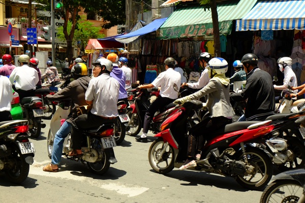 Bikes in Saigon