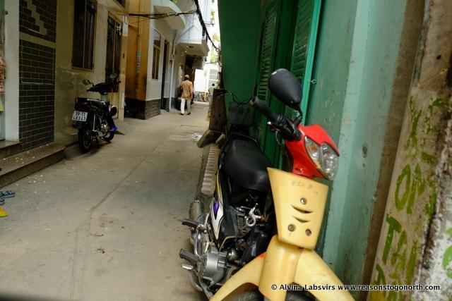 Narrow Alley ways