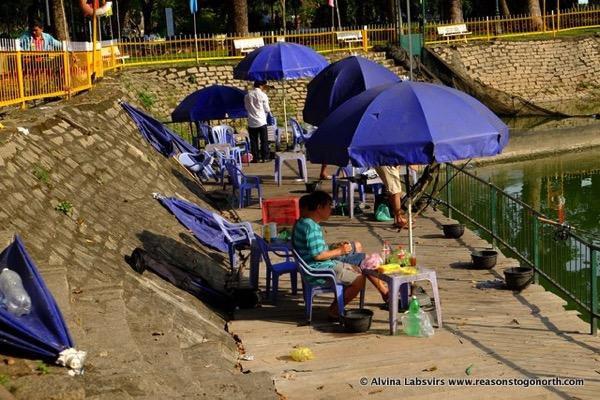 Fishing Hoàng Văn Thụ park