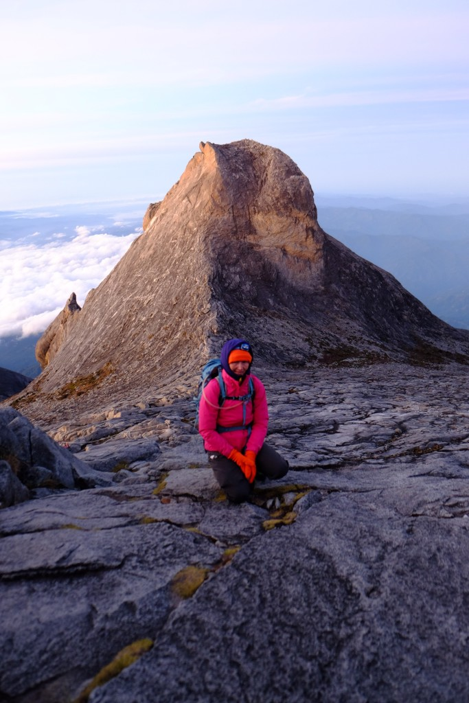 Just after dawn on Kinabalu