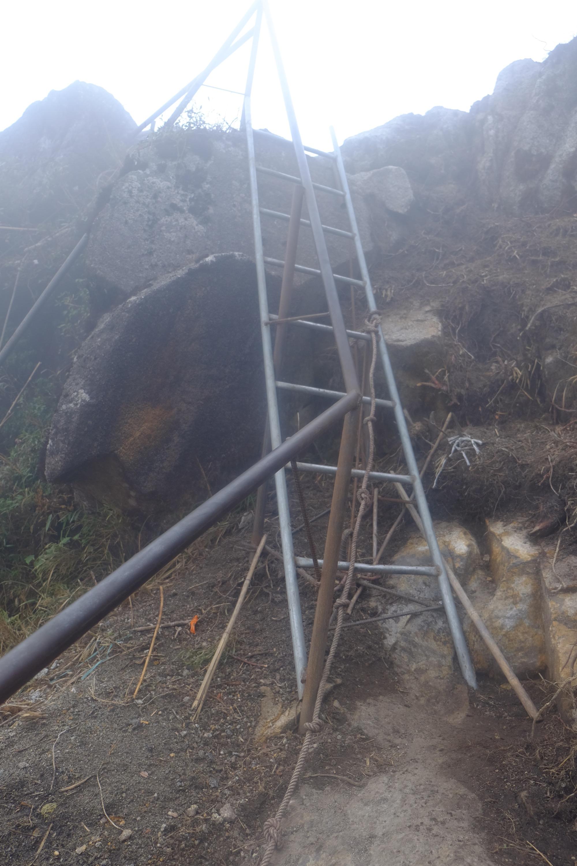ladder up Fansipan