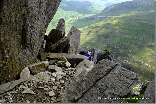 Gully Scramble Tryfan