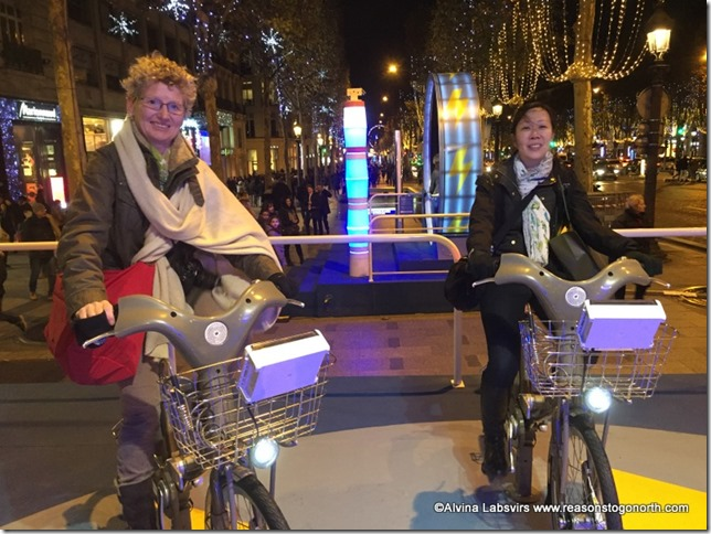 Powering the Champs Elysees