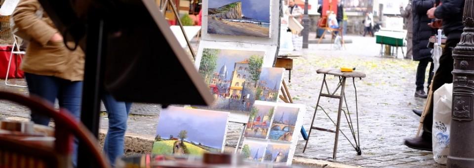 Montmartre and Le Marais