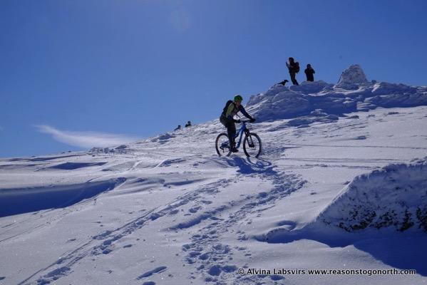 Mountain Bikes on Raise