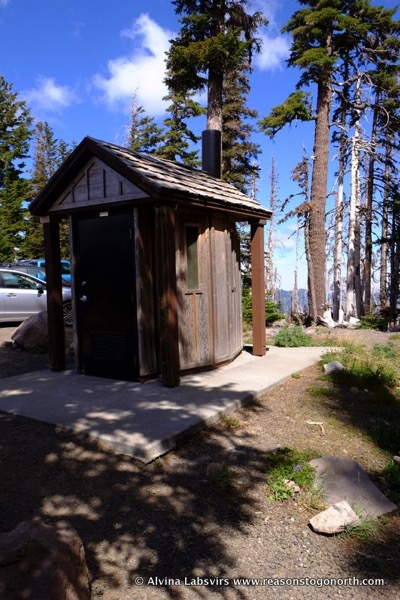 Mount hood restrooms