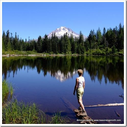 Mirror Lake and Mount Hood