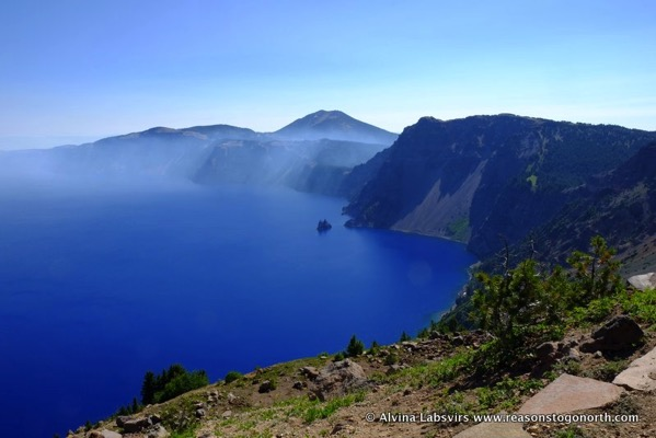 Crater Lake from Garfield Pike
