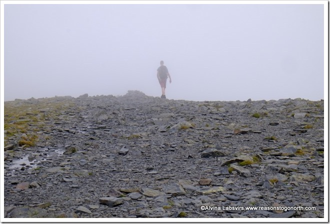 Mist on Skiddaw