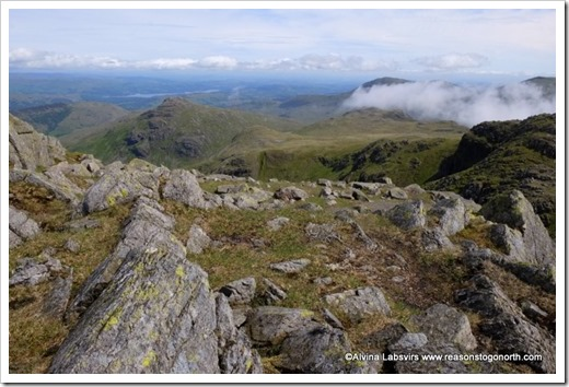 Pike of Blisco from Crinkle Crags