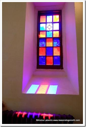 Window in Washburn Church