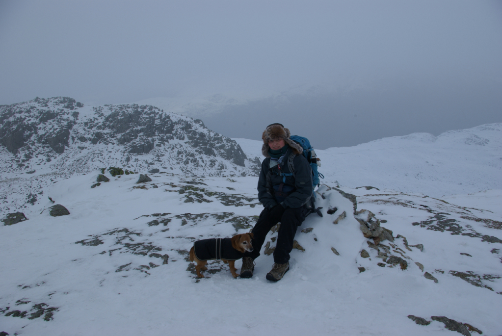 Rosie and I, Shelter Crags