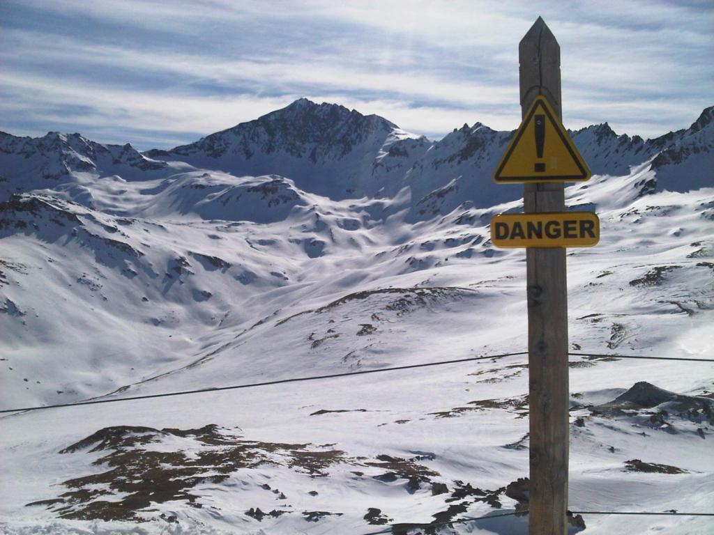 Ski slopes Val d'Isere