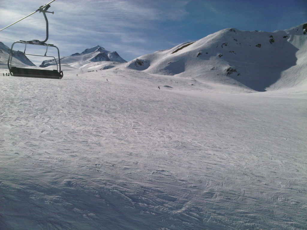 Ski slopes Val d'Isere