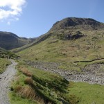 Great Gable from Seathwaite