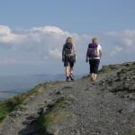 Three Women on a Hill